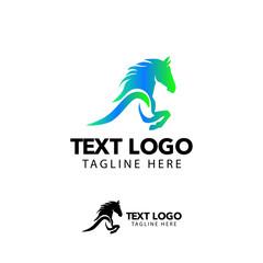 horse lgoo vector