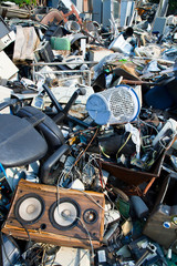 Electronic Scrap, electronic and office parts for recycling