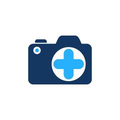 Medical Camera Logo Icon Design