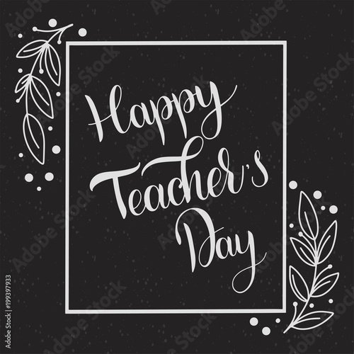 Happy teacher day lettering elements for invitations posters happy teacher day lettering elements for invitations posters greeting cards seasons greetings m4hsunfo