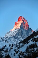 Matterhorn am Morgen