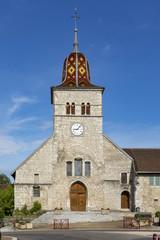 church saint nithier in Clairvaux les lacs