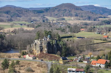 Castel Sloup Czech Republic