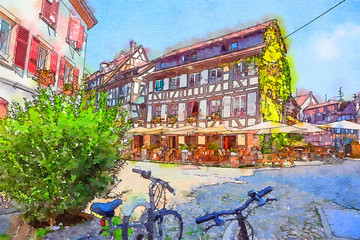Strasbourg, region Petite-France