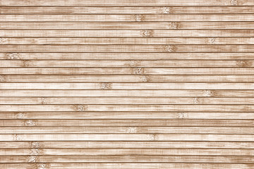 Bamboo horizontal slats background