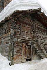 Scheune in Zermatt