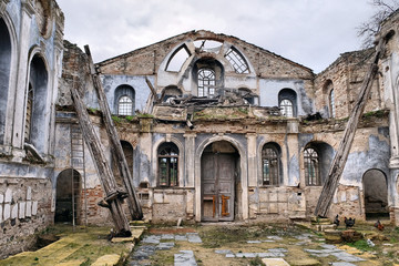 Historical Derekoy Church in Mudanya, Bursa