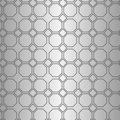 Seamless geometric line pattern in arabian style. Repeating linear texture for wallpaper, packaging, banner, invitation
