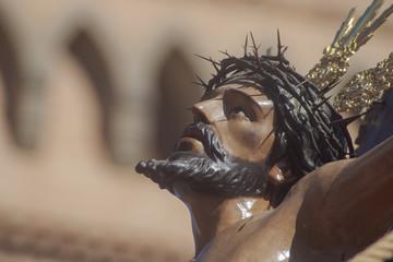 Fototapete - Cristo de la hermandad de la exaltación, semana santa de Sevilla