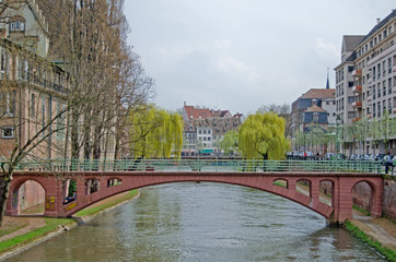 City view of Strasbourg, France