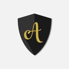 A Letter Logo Vector Template Design Illustration