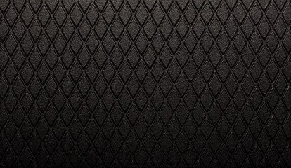 Abstract black metal texture dark diamond background