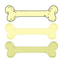 dog bone vector design