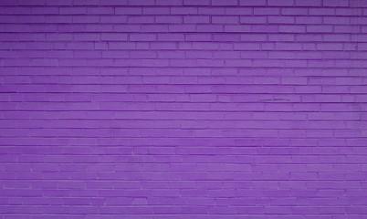 Purple Brick Background