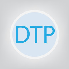 DPT (combination vaccines against diphtheria, pertussis and tetanus)- vector illustration