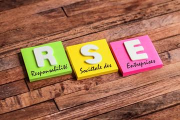 post-it acronyme : RSE