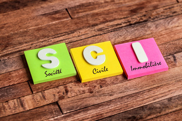 post-it acronyme : SCI