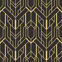 Abstract art deco seamless pattern 01
