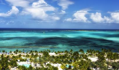 Tuinposter Eiland View of Nassau, Bahamas