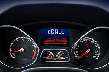 Automatisches Notrufsystem ECALL E-Call