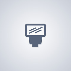 Flash icon, light icon