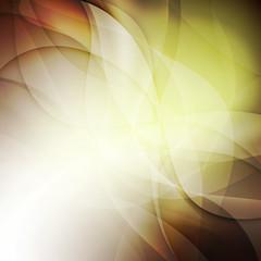 Fluid colors background. Mesh shapes overlap.
