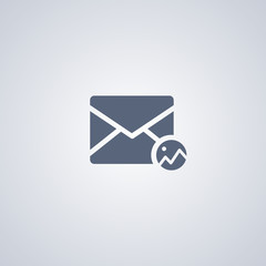 Mail image vector icon