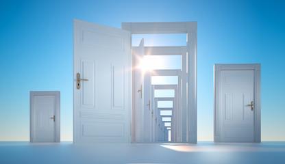 Offene Türen - Zukunft und Chancen