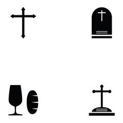 catholic icon set