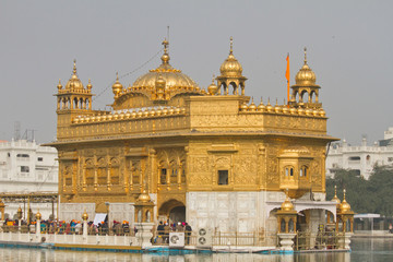 The Golden Temple, Amritsar, the Punjab, India, Asia
