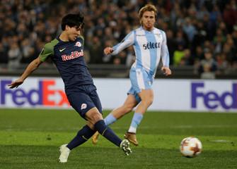 Europa League Quarter Final First Leg - Lazio vs RB Salzburg