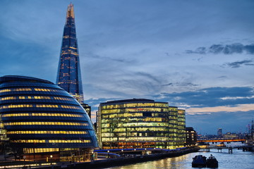 london city night