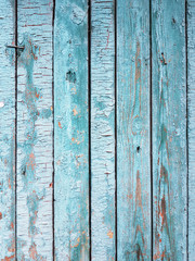 wood board texture. fence.color of turquoise. vertically