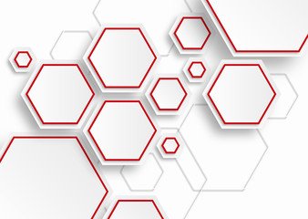 Vector Background #Hexagons and Honeycomb Structure