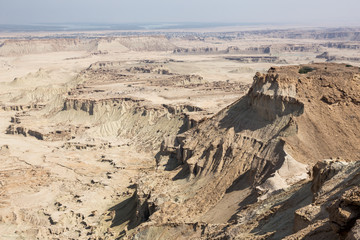 Roof of Qeshm Geosite, Iran