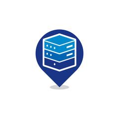 Server Position Logo Icon Design