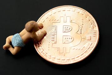 赤ちゃんとビットコイン