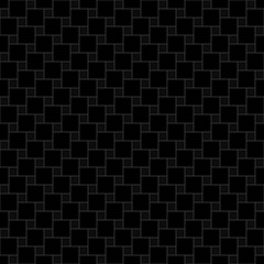 geometric seamless pattern. simple square shapes. dark vector background
