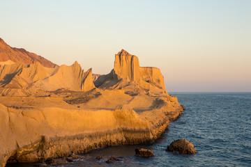 Mofanegh Beach in Hormoz Island, Iran