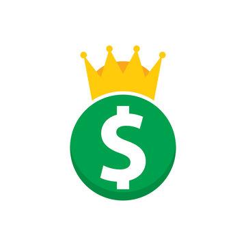 Money King Logo Icon Design