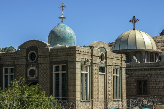 Chapel of the Tablet in Aksum, Ethiopia
