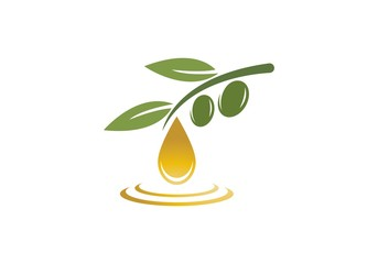 olive logo vector