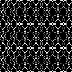 Lacy black and white pattern eight