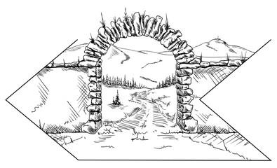 stone gate draw