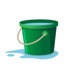 Water Bucket Vector illustration
