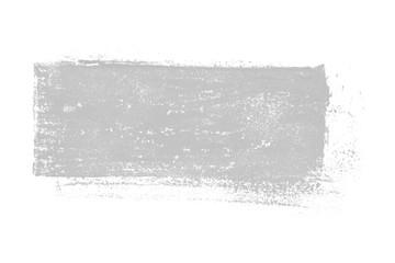 Isolierter grauer unordentlicher Farbabdruck