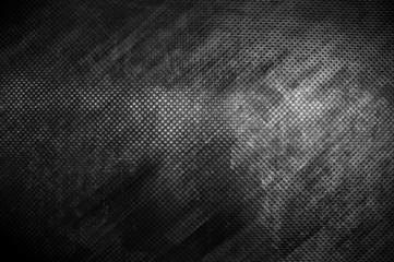 In de dag Stof grunge black metal plate background