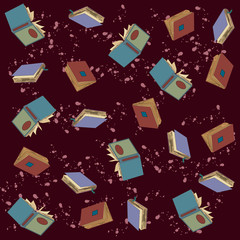 Book collection. Vector image of a book.
