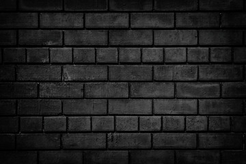 Black Stone Wall Texture As Sinister Gothic Background