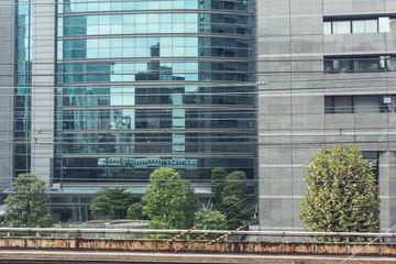 Tokyo and bullet train, Panorama, Japan